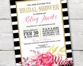 Kate Spade Inspired Bridal Shower Invitation, PRINTABLE Kate Spade Bridal Shower, Kate Spade Bridal Shower Invitations, Kate Spade Invite