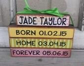 Adoption Stacker Blocks
