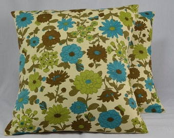 Vintage Pillow Cover, Cushion Cover, Throw Pillow, Decorative Pillow, Vintage Home Decor Pillow, Floral Pillow - 16 inch Pillow - PC12