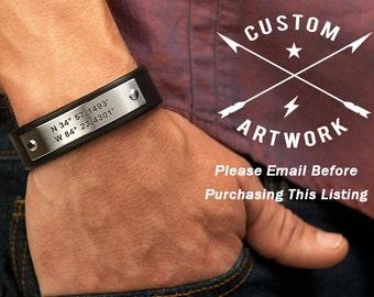 Custom Art Work Backside - Please Email Before Purchasing