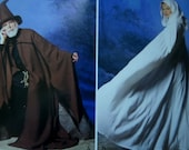 WIZARD ROBE Pattern • Simplicity 0811 / 9887 • Unisex Adult Xs-XL • Priestess Robe • Grim Reaper Costume • Costume Pattern • WhiletheCatNaps
