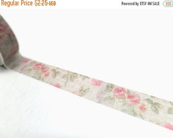 Vintage Rose Washi Tape 15mm x 10m Shipping End of July 2016