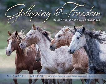 Galloping to Freedom Book + 2017  WHFF Calendar - 15% Off - Discount - Gift