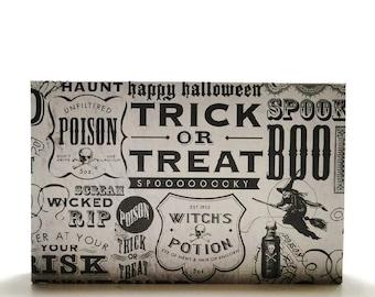 Eyeshadow Storage custom makeup pans palette book of shadows basic paper Halloween Goth Spooky trick or treat