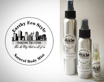 Scent Of Summer All Natural Body Mist