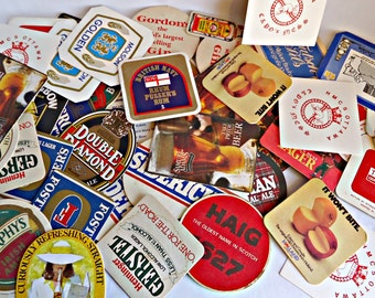 Vintage 50 Beer Coasters Instant Collection   Beer Mat