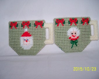Santa Holiday Treat Teacup Bags Sets