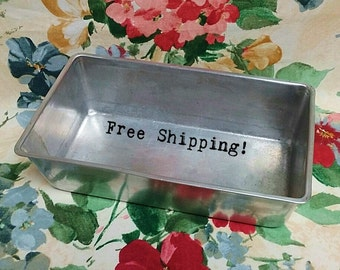 Bread Loaf Pan Wearever 2771 Full Size Vintage FREE SHIPPING!