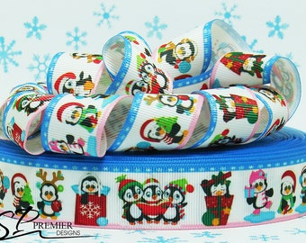 "1"" Christmas Grosgrain"