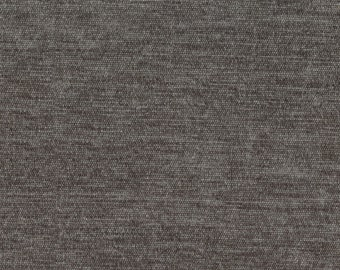 "Timeless Classic Chenille Upholstery Fabric - Durable - Washable - Soft hand - 56"" wide - Polyester/Viscose - Color:  Platinum - Per Yard"
