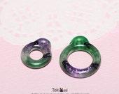 Tokissi / Handmade Pull Ring for blythe doll / bunny / rabbit / Resin