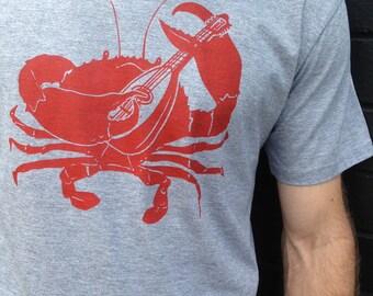 Mens Tee Crab