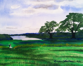Made to order landscape painting