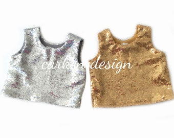 sequin crop top tank top sequin shirt formal top toddler baby girl birthday wedding baby toddler girl