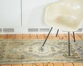 RESERVED 2x5 Vintage Oushak Rug Mat Runner