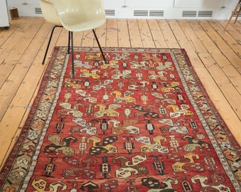 DISCOUNTED 5x11 Vintage Oushak Runner