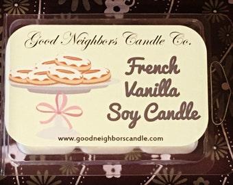 French Vanilla, Tart Melters, White , 6 cubes, Year Round Use, Vanilla