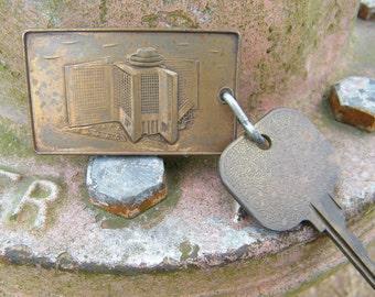 Vintage Hyatt Regency Indianapolis Indiana Hotel Room Key and Fob #38