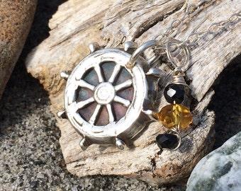 Nautical Skipper Wheel