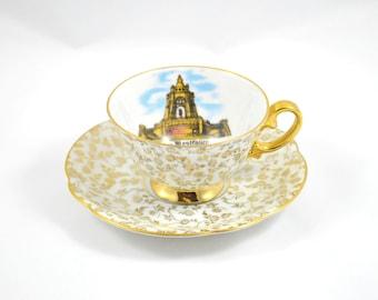 Vintage German Souvenir Mokka Cup . Miniature Cup