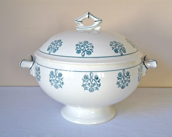 1950 French Antique Tureen French Tureen
