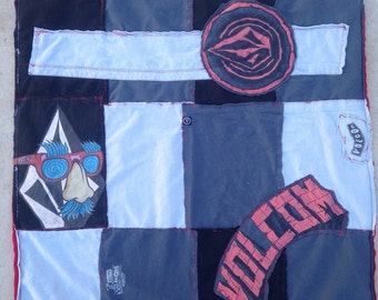 Volcom baby blanket