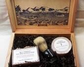SALE Drakkar Cigar Box Deluxe Shave/Shaving Set Kit - Perdomo