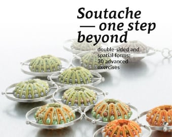 "Digital manual ""Soutache - one step beyond Double-sided and spatial forms: 30 advanced exercises"""