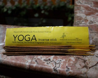 Yoga Flora Incense Sticks-All Natural JUNIPER  Incense Sticks- Nepacrafts