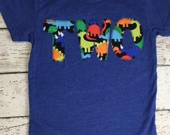 Dinosaur Shirt, dinosaur birthday shirt, dinosaur birthday, dinosaur invitation, Boys Birthday Tee, dinosaur decor, dinosaur party