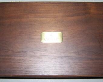Vintage 1980's Trump Castle Casino Jewelry Box