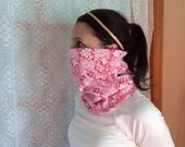 Pretty in pink, Running Scarf, cowl, gator, Ski Mask, snood, tube scarfe