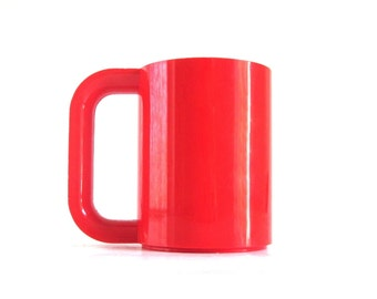 Heller Maxmug Designed by Massimo Vignelli Heller Max Mugs Red Dishes