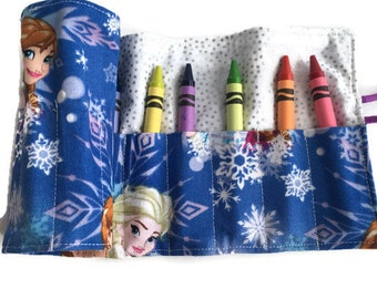 Frozen - Sisters Crayon Roll