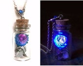 Blue glow in the Dark Rose and Quartz