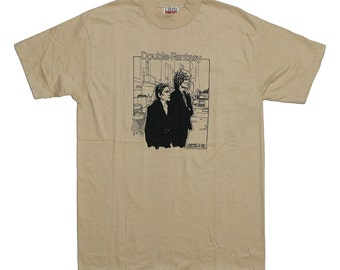 John Lennon and Yoko Ono 1980 Vintage Double Fantasy Jewel & Company t Shirt 1980s Original Rock Tee