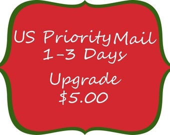 USPS Priority Mail 1-3 Days Upgrade