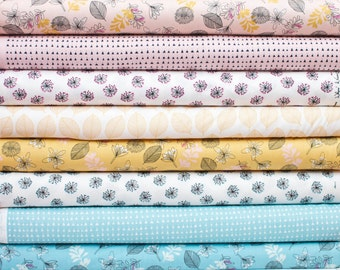 Whisper from Windham Fabrics Bundle - Half Yard Bundle - 8 Half yard pieces (B376)