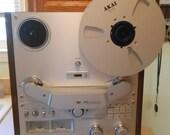 Vintage AKAI reel to reel tape recorder model GX-636