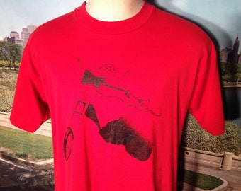 Late 80's, early 90's Three Wheel Drive t-shirt, fits like a large