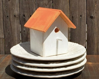 Personalize this Birdhouse with your choice of names