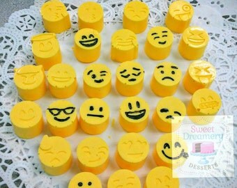 Emoji chocolate candy mold
