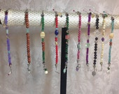 California Bohemian Bracelets of Interesting Genuine Stones and Artistic Color Combinations