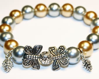 Enchanted Forest Butterfly Bracelet