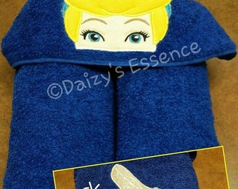 Cinderella Hooded Towel