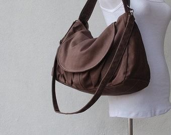 Back To School SALE - 30% Fortuner in Cinnamon (Water Resistant) Purse/ Shoulder bag / Messenger Bag / Handbag / Wallet /Diaper Bag/ School