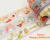 Alice in Wonderland - Paper Masking Tape Set - 5.5 yard (each roll) - 3 rolls