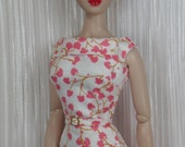 Gingko Pink for Gene Marshall and Friends 15 1/2 Inch OOAK Doll Fashions