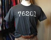 76201 Zip Code Tee - Unis...