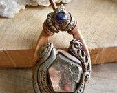 RESERVED-pyrite elba - pyrite pendant-